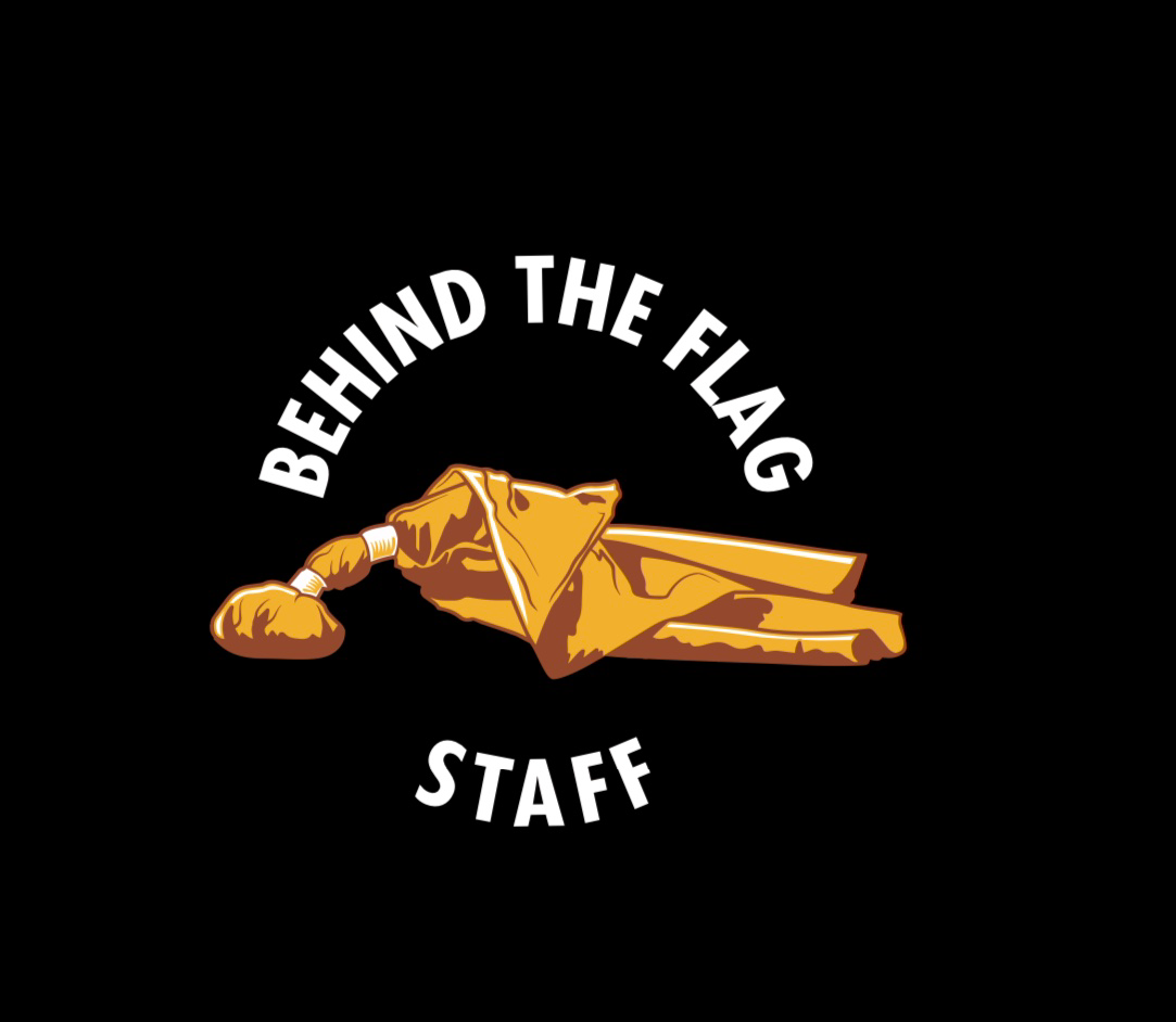 Behind The Flag