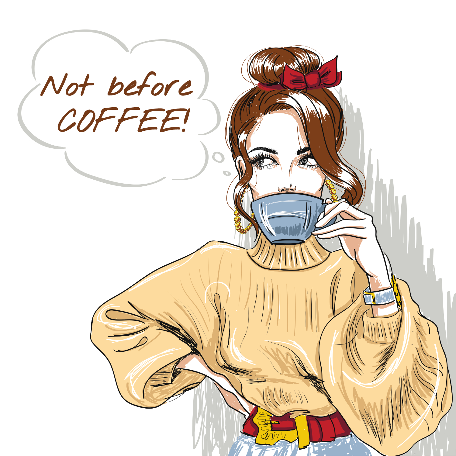 Not Before Coffee!