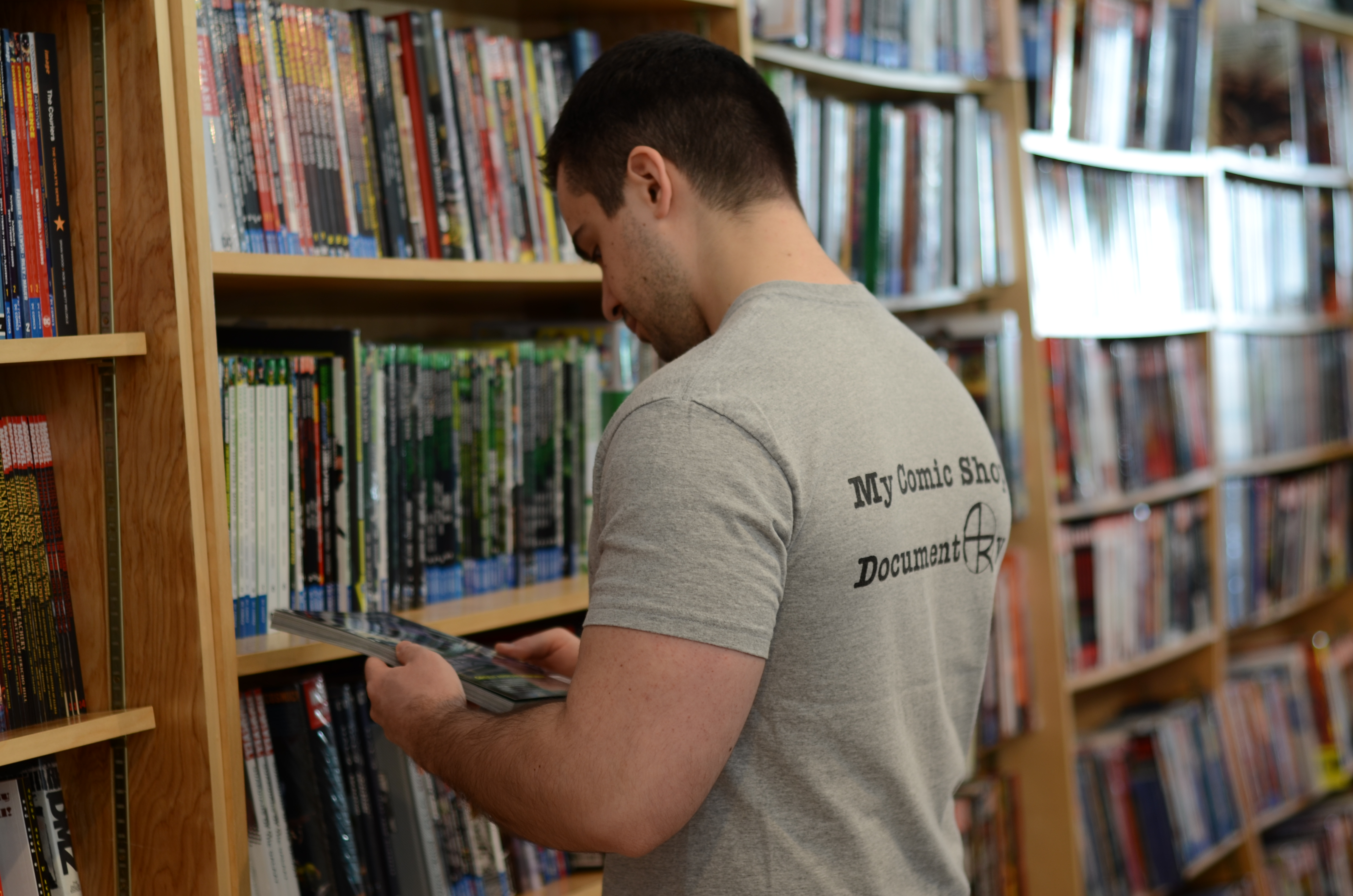 My Comic Shop Book Club