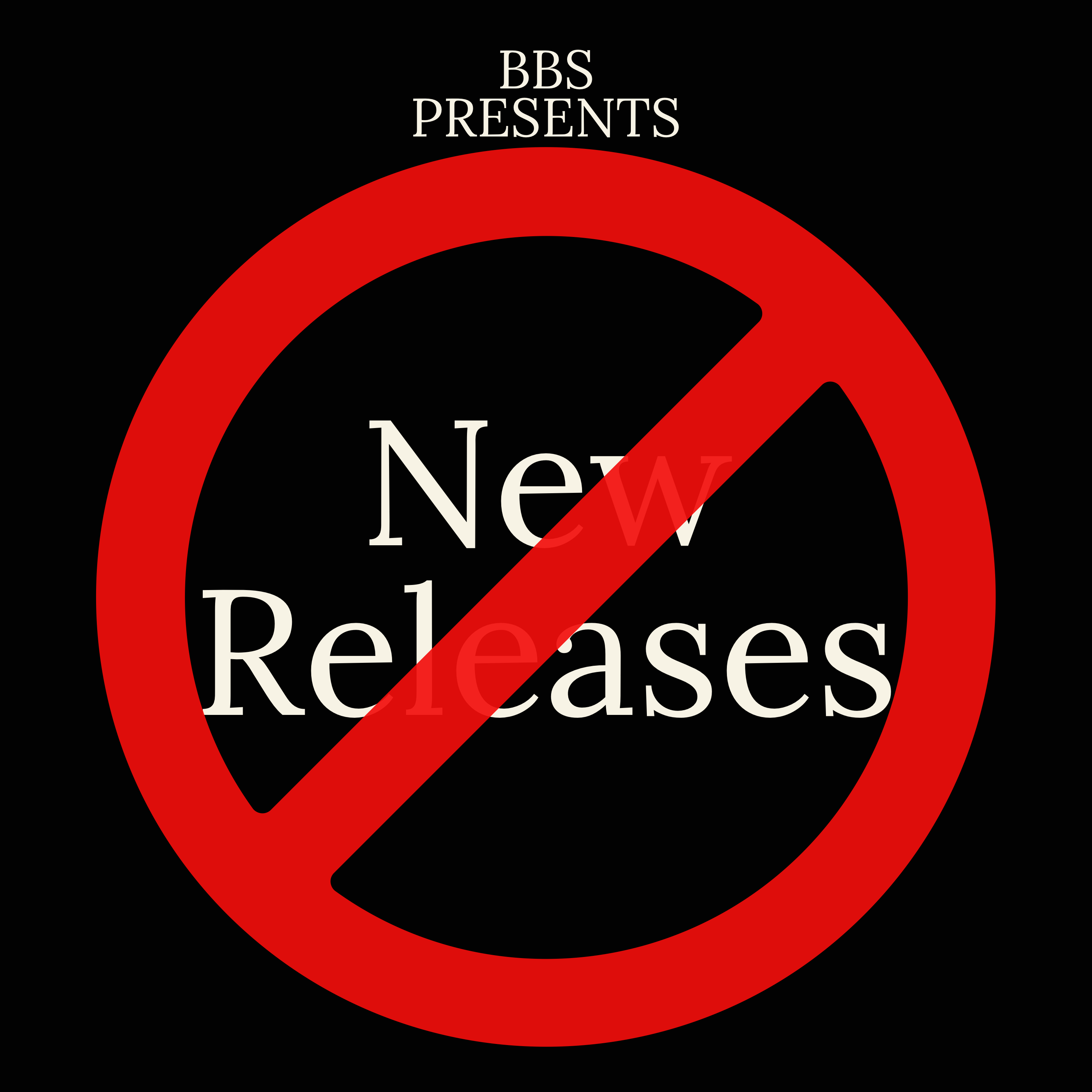 (not) New Releases