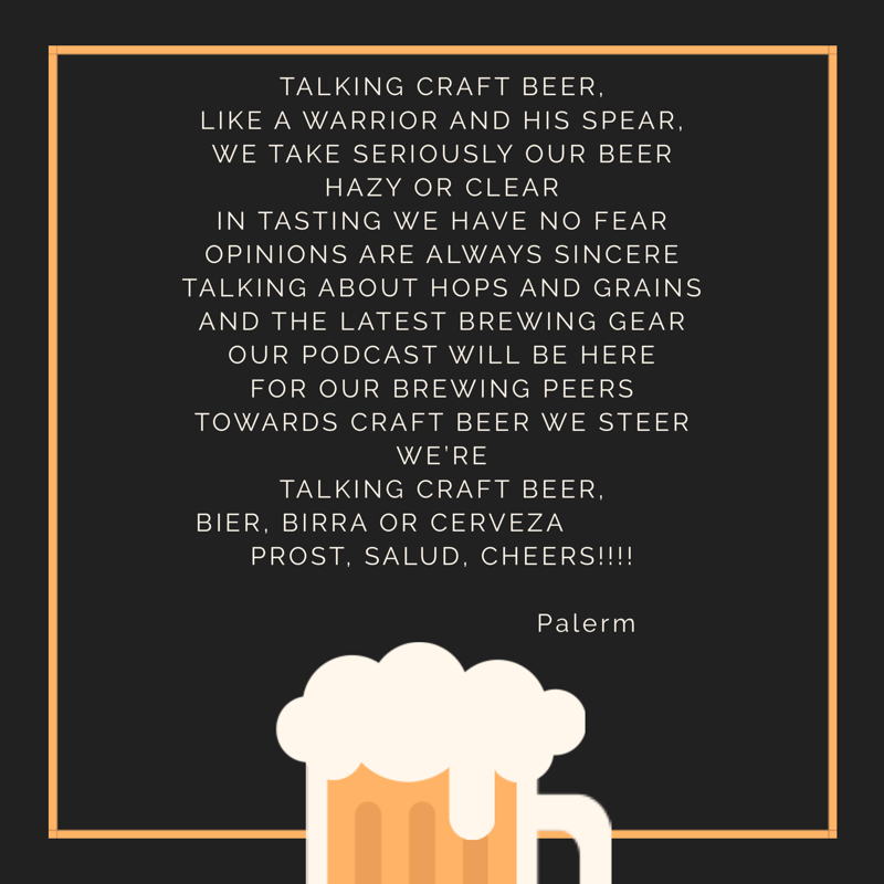 Talking Craft Beer Show